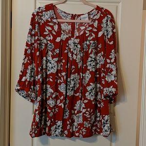 Dia & Co. rayon blouse